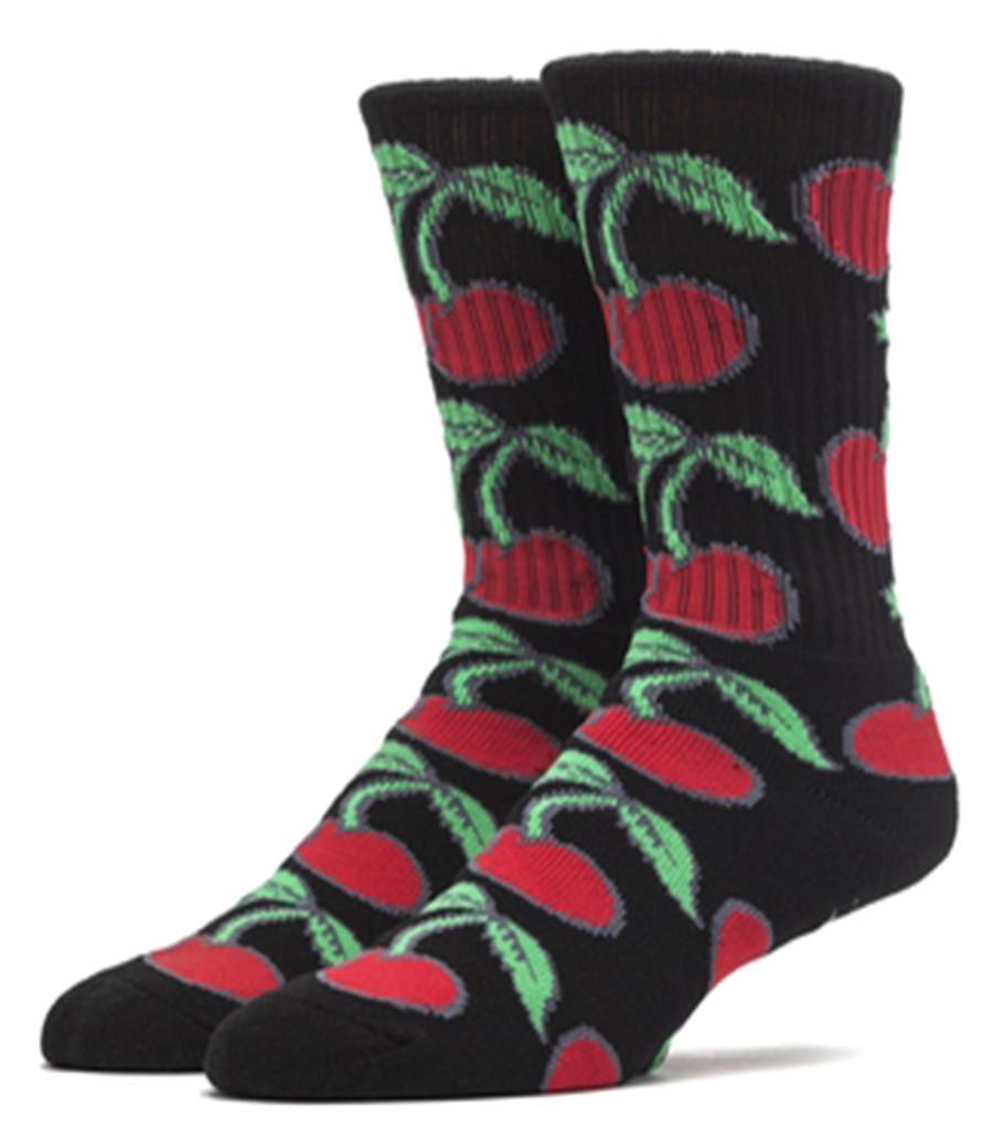 Huf Pop It Crew Socks - Black
