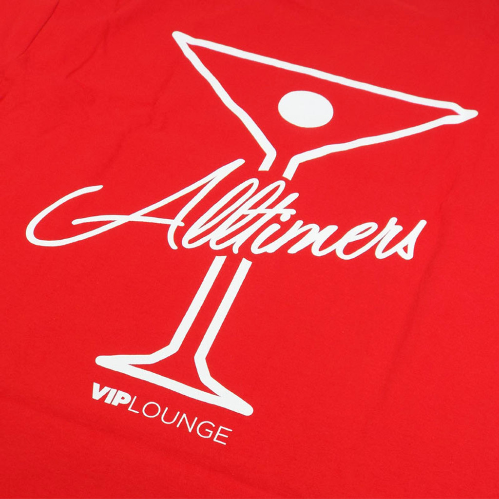 Alltimers Logo T-Shirt - Red/White