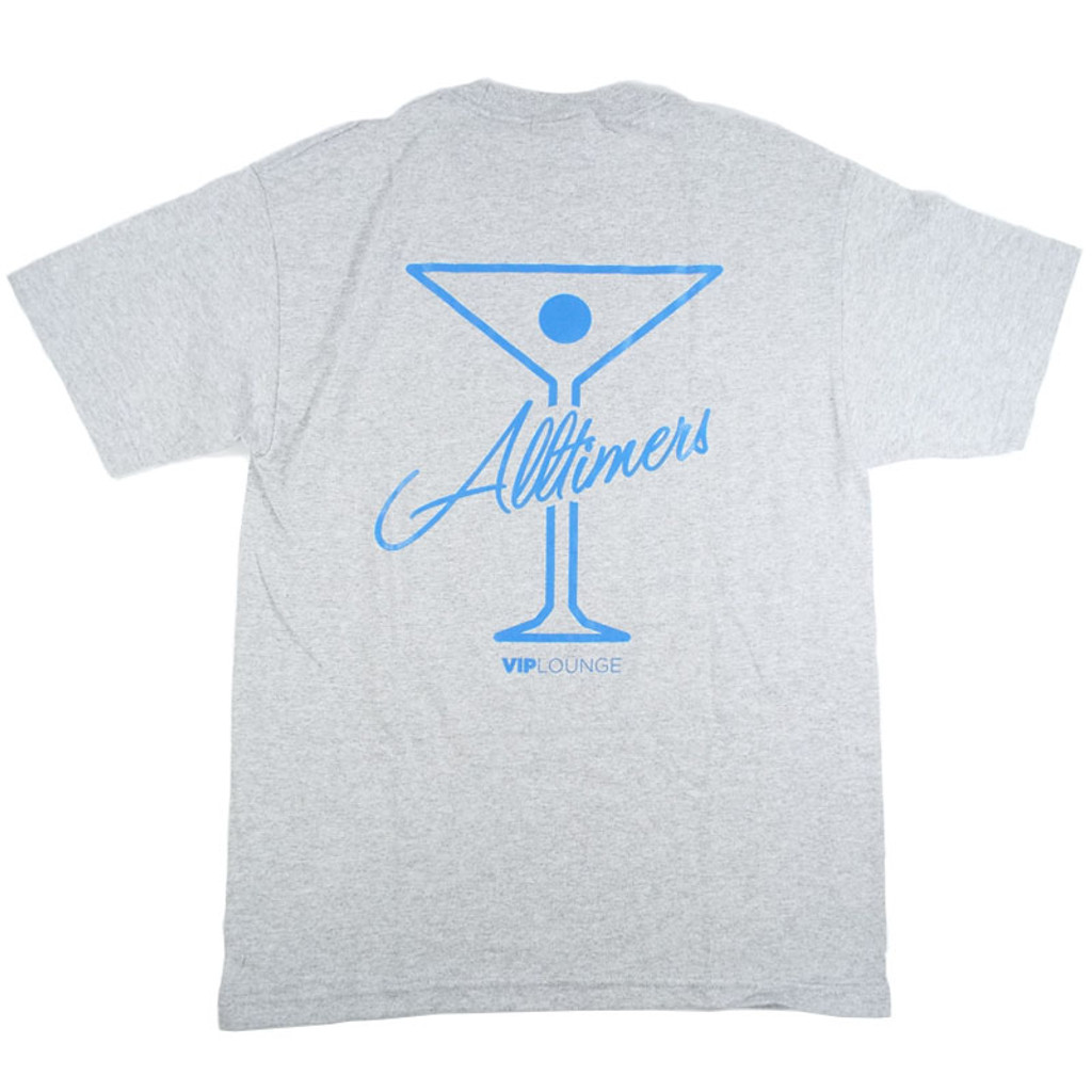 Alltimers Logo T-Shirt - Grey/Blue