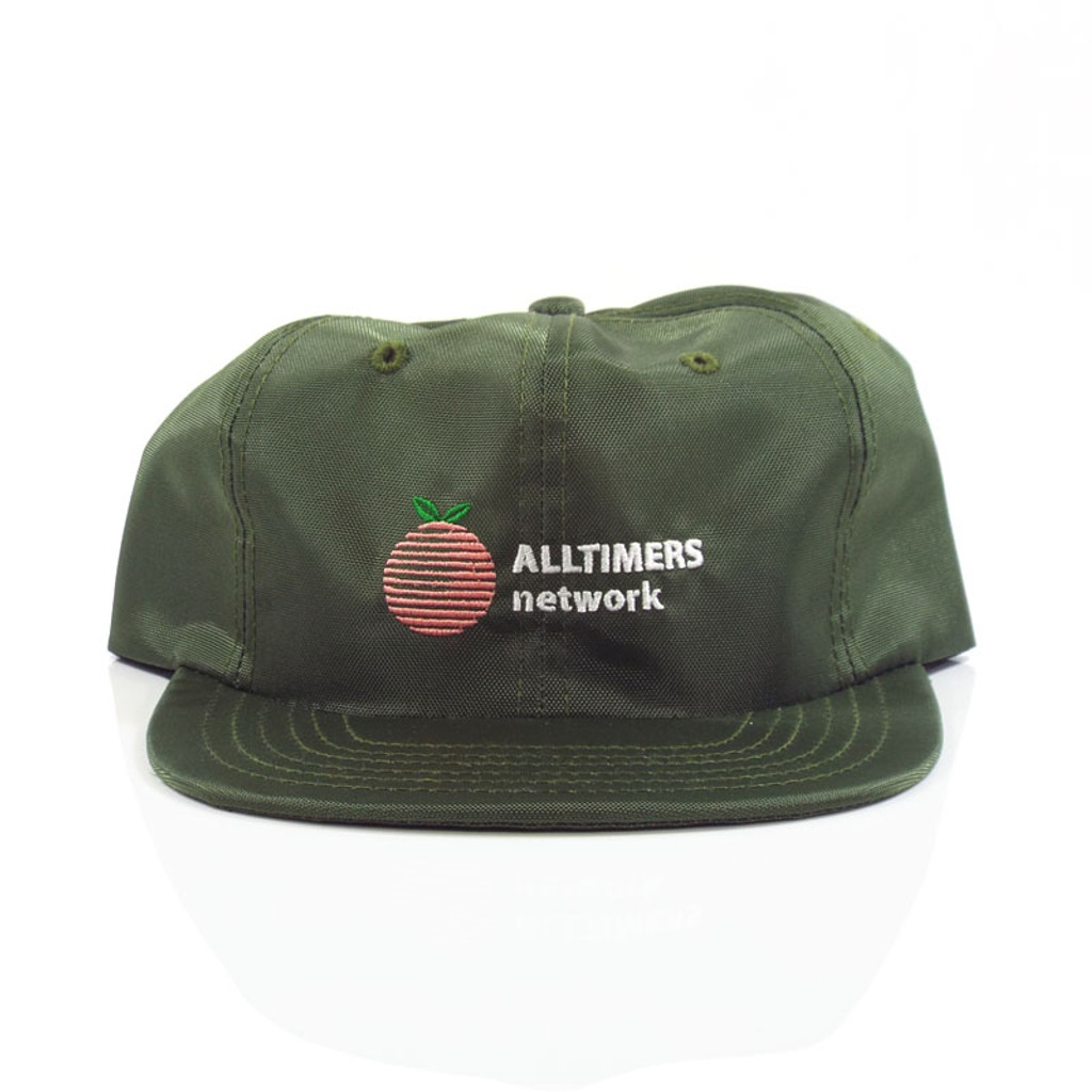 Alltimers Network Snapback Hat - Green