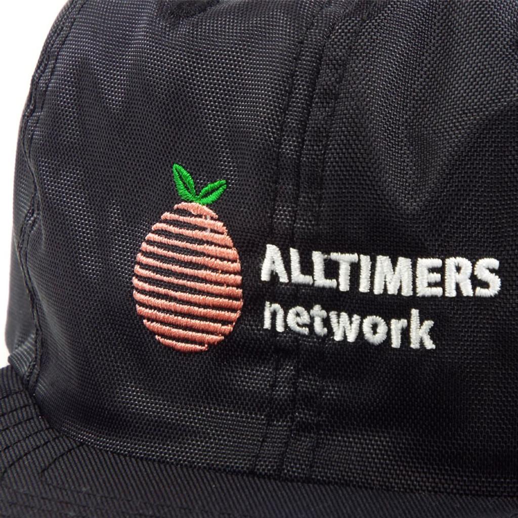 Alltimers Network Snapback Hat - Black