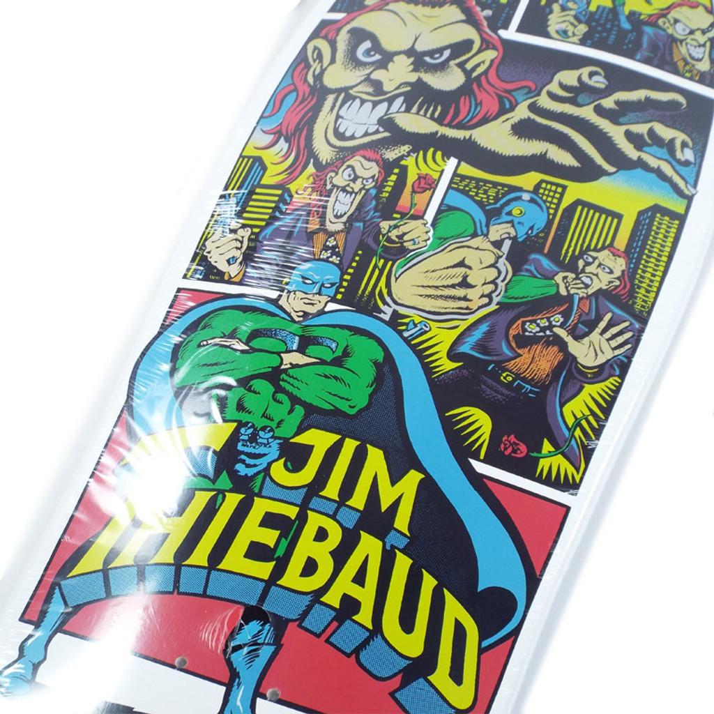 """Santa Cruz Thiebaud Joker White Reissue Skate Deck - 10"""""""