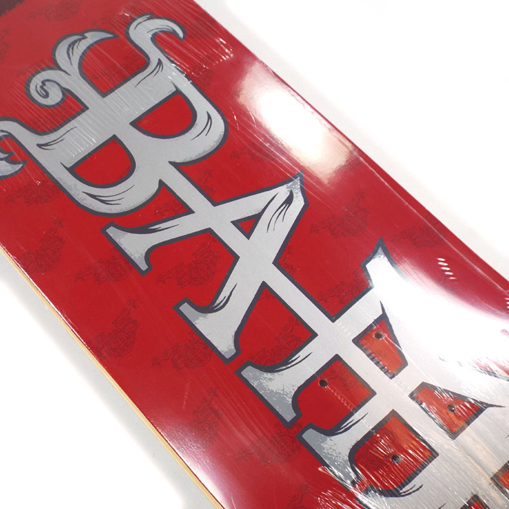 Element Bam LTD Skate Red Skateboard Deck - 8.25""