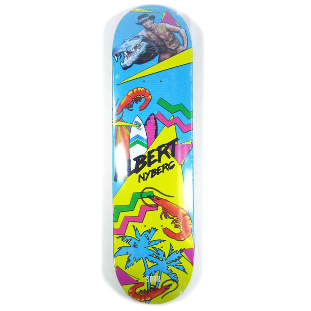"""Sour Albert OZ Summer Skateboad Deck - 8.12"""""""