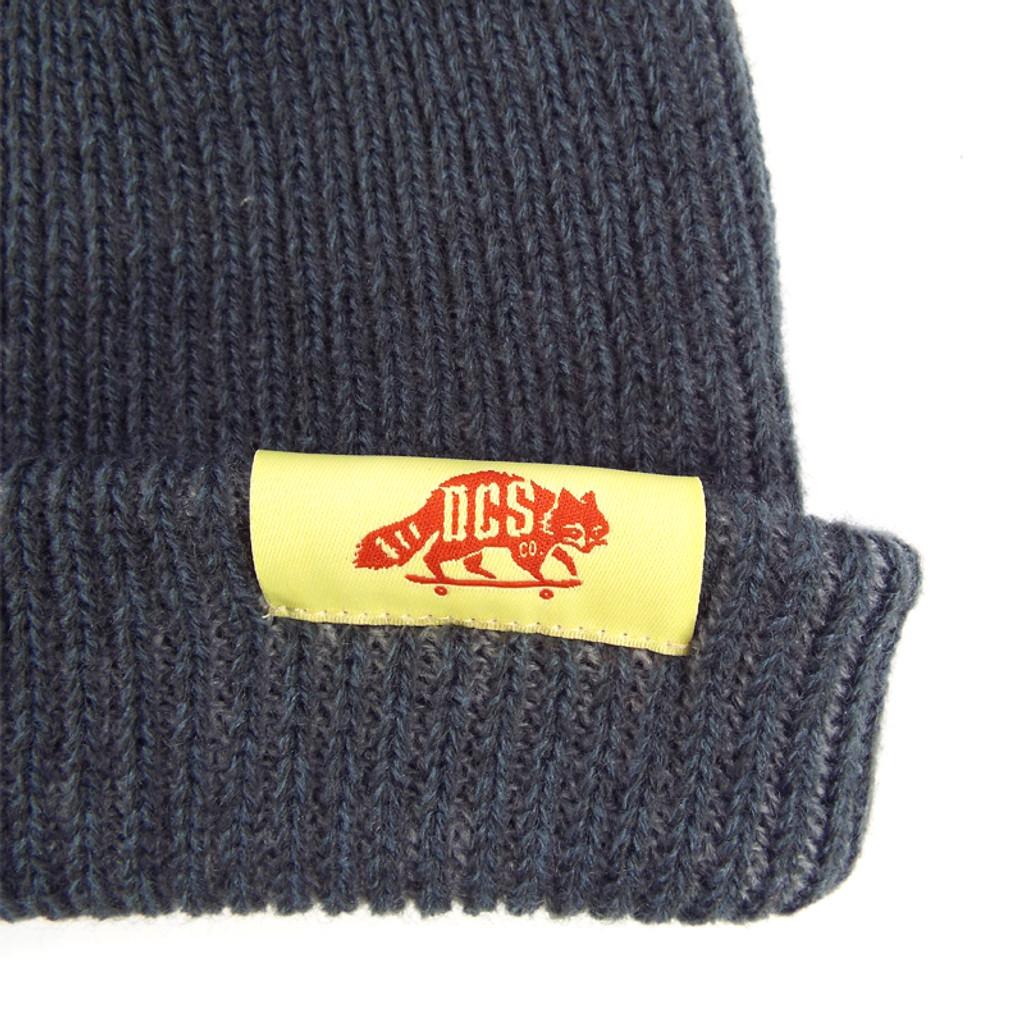 DCS Dockwear Cuffed Ribbed Beanie - Charcoal