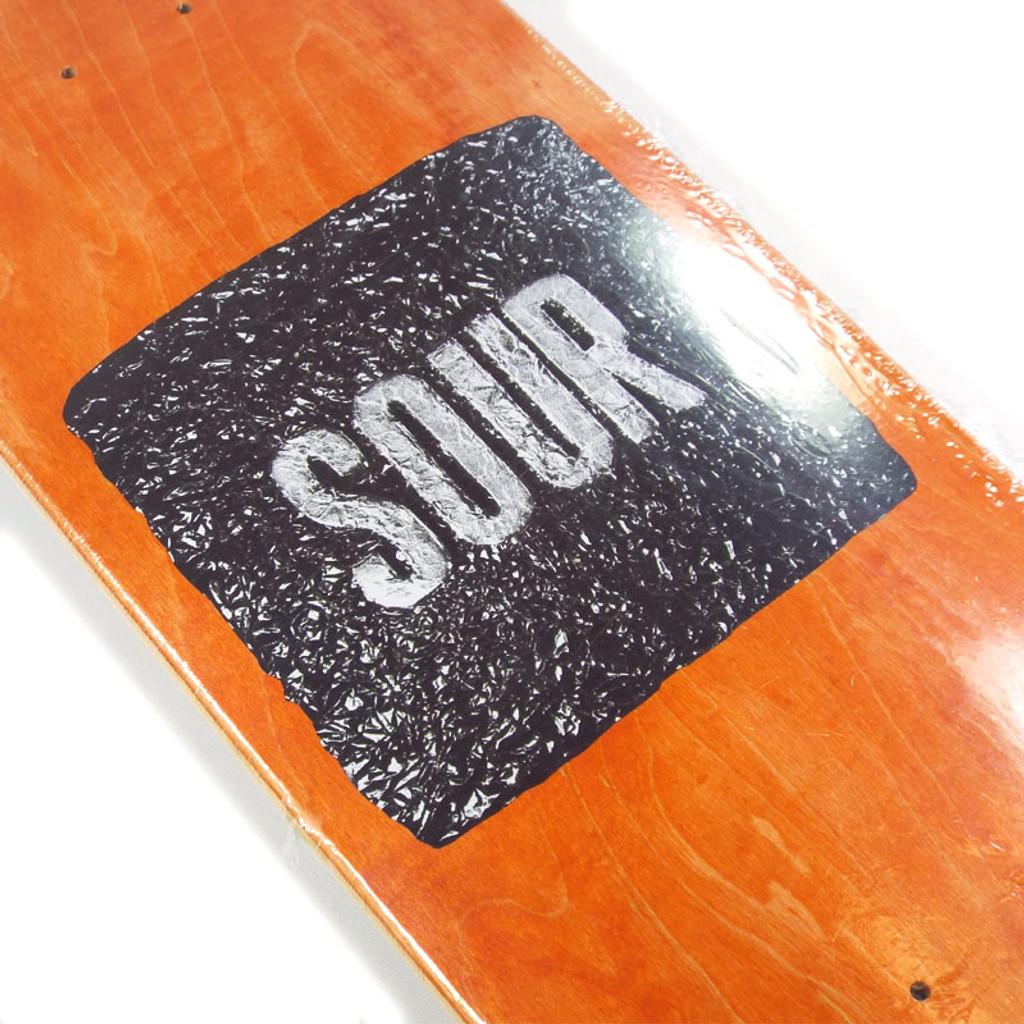 """Sour Foil Orange Skateboard Deck - 8.37"""""""