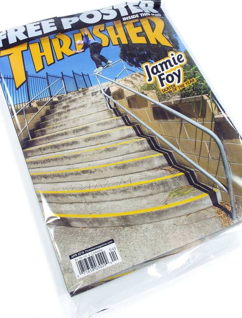 Thrasher Magazine - April 2018