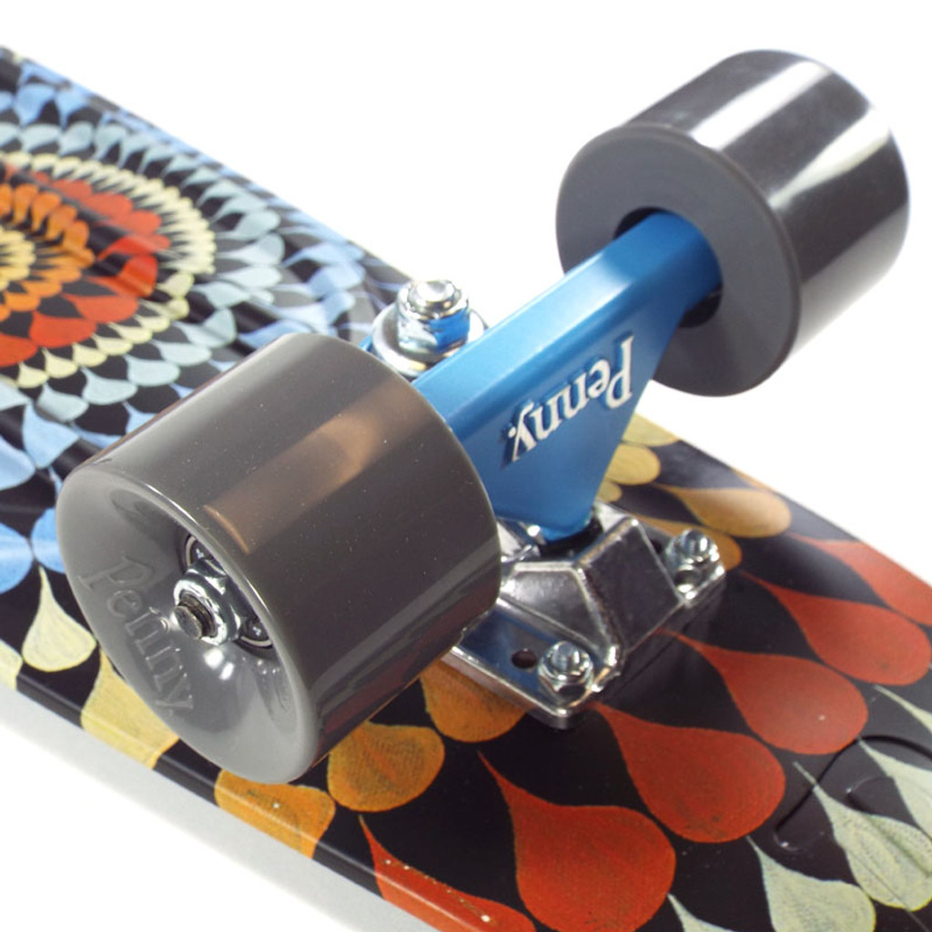 "Penny 27"" Nickel Mitchell King Ripple Skate Complete"