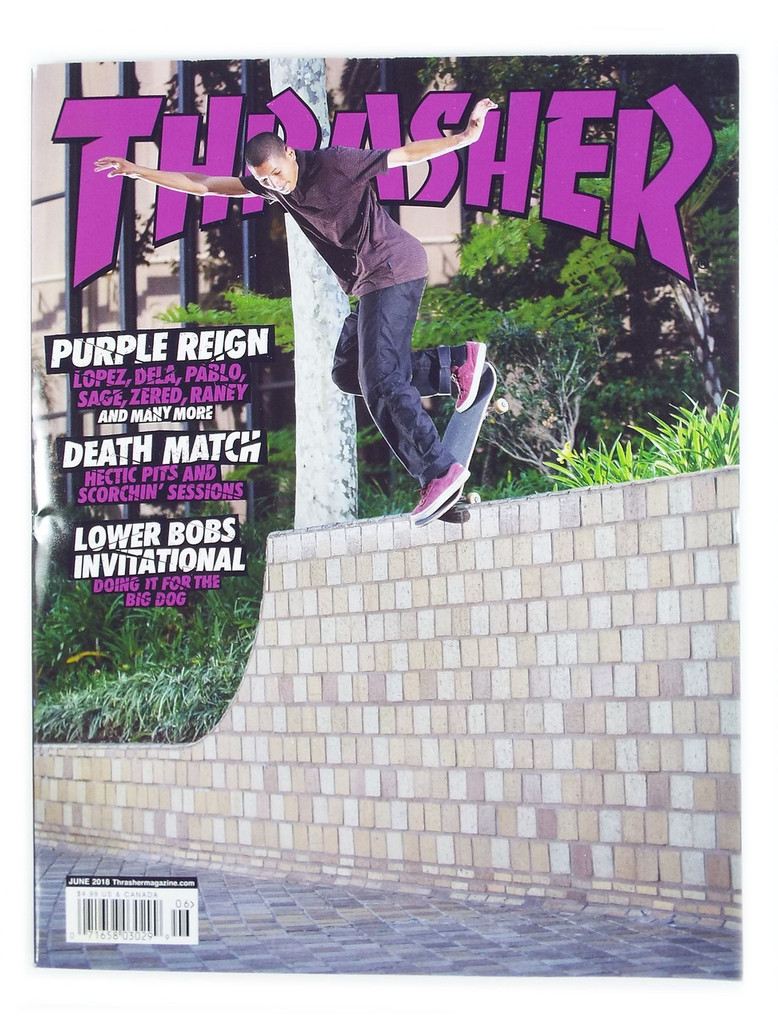 Thrasher Magazine - June 2018