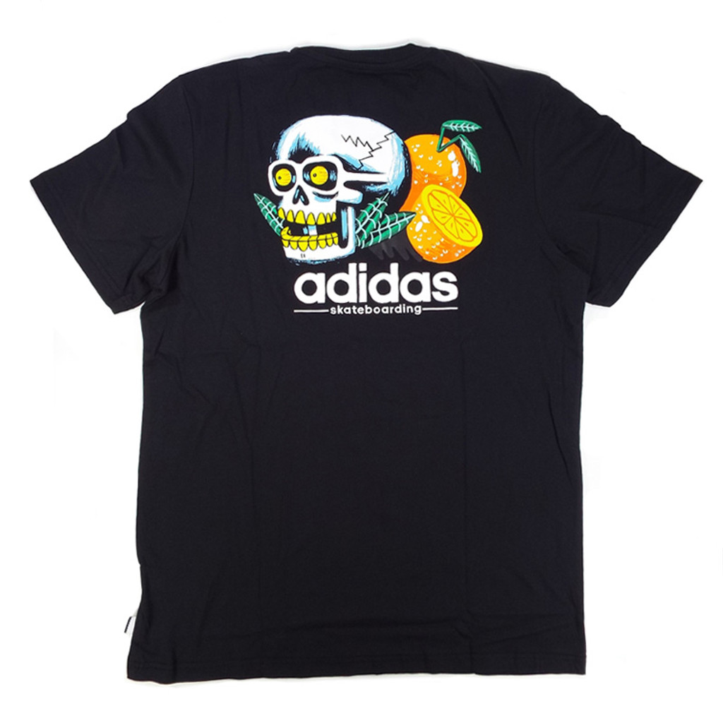 Adidas Tropical Skull T-Shirt - Black