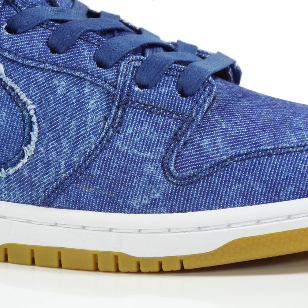 Nike SB Dunk Low TRD QS Shoes - Utility Blue/Utility Blue