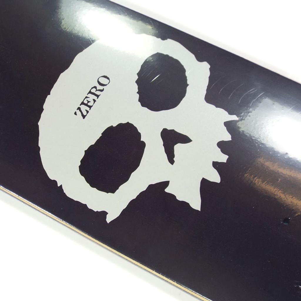"Zero Single Skull Pearlescent Skateboard Deck - 8"""
