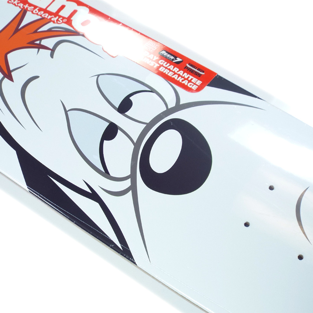 Almost Youness Droopy Face Skateboard Deck - 8""