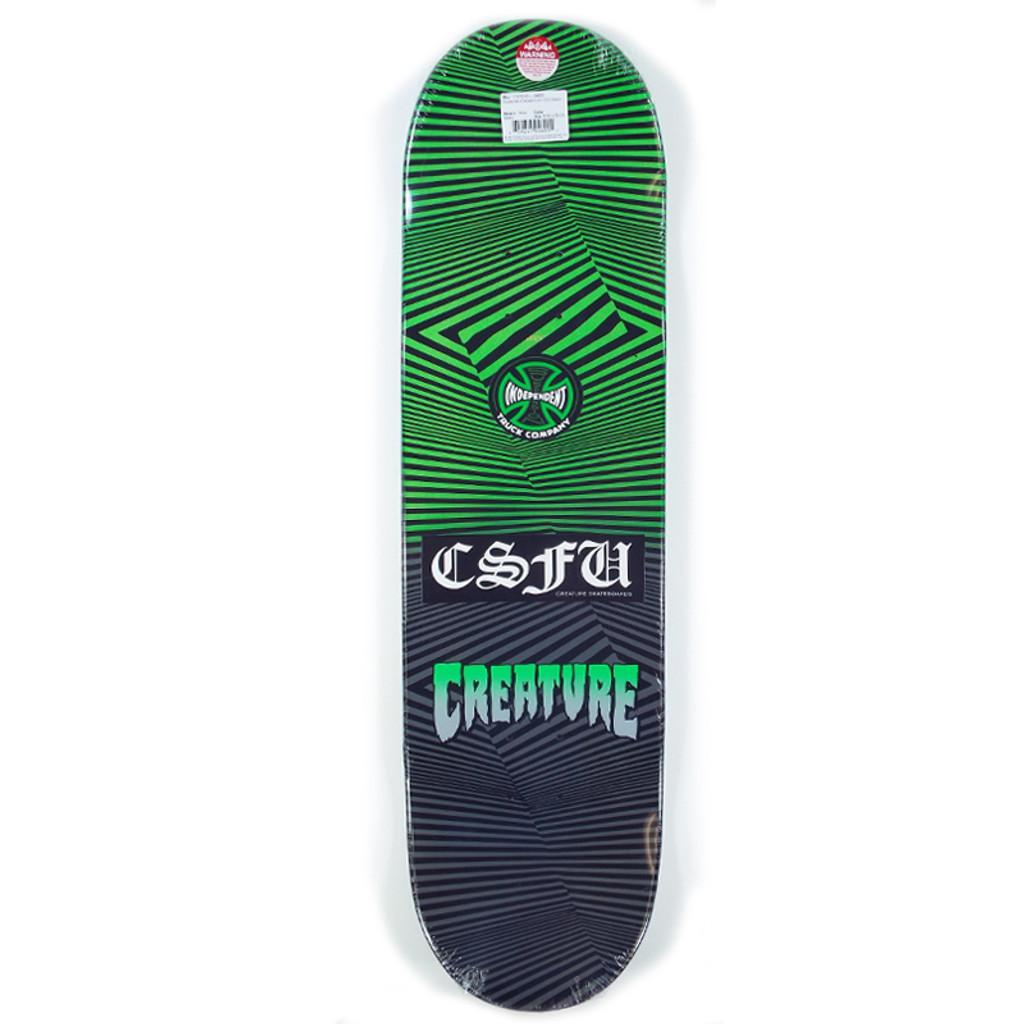 "Creature Gravette Web Of Dislocation Skateboard Deck - 8.3"""