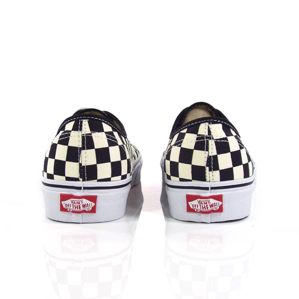 Vans Authentic (Golden Coast) Shoes - Black/White Checker