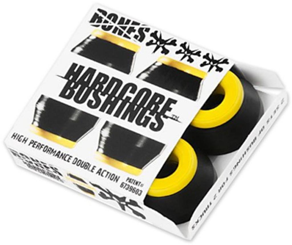 Bones Hardcore Medium Yellow/Black Bushings