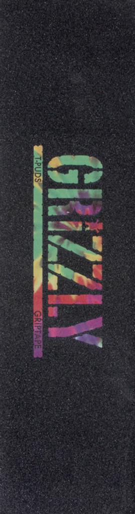 Grizzly T-Pud Tie-Dye Griptape Sheet