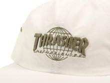 Huf x Thrasher TDS 6-Panel Strapback Hat - White