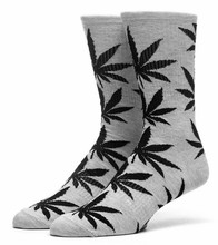 Huf Plantlife Lite Crew Socks - Grey Heather