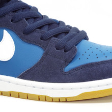 Nike SB Dunk High Pro Shoes - Obsidian/Industrial Blue -White