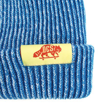 DCS Dockwear Cuffed Ribbed Beanie - Electric Blue