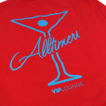 Alltimers League Player Crew Sweatshirt- Red