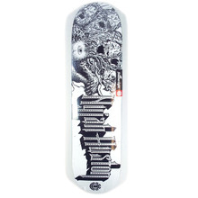 Element Nyjah Lion Array Skateboard Deck - 8""