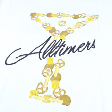 Alltimers Bar Mix Logo T-Shirt - White