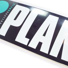 "Plan B OG Black/Teal/White/Grey Skateboard Deck - 8"""