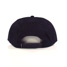 The Quiet Life Day Logo Relaxed Snapback Hat - Black