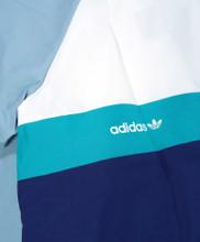 Adidas Blackbird Wind Jacket - White/Ash Grey/Shock Green