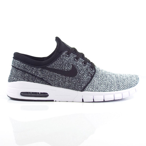Nike SB Stefan Janoski Max Shoes - White/Black-Dark Grey