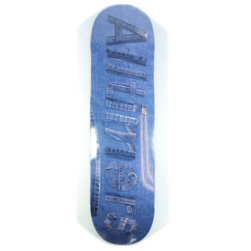 "Alltimers Denim Logo Skateboard Deck - 8.25"""