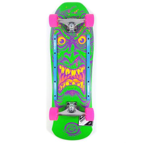 "Santa Cruz Roskopp Face 80s Cruzier Skateboard Complete - 9.5"" x 31"""