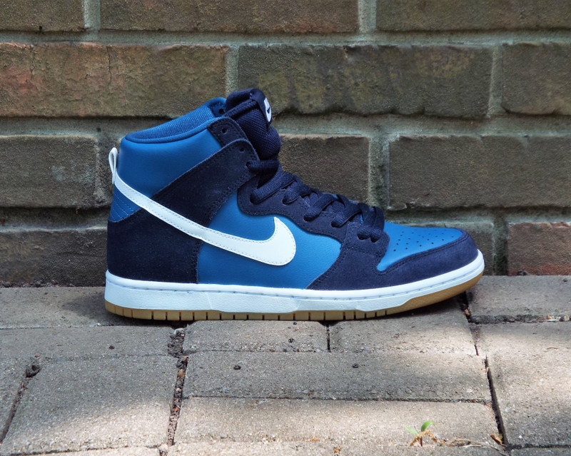 Nike SB Dunk High Pro Industrial Blue Shoes