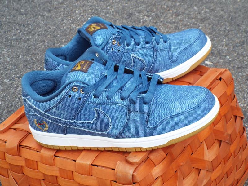 Nike SB Denim Dunk Low TRD Shoe on shelves now!