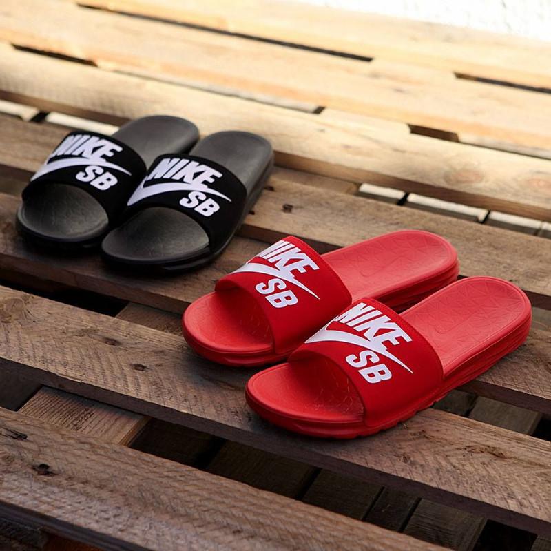 Nike SB Benassi Solarsoft SB Slides here for summer!