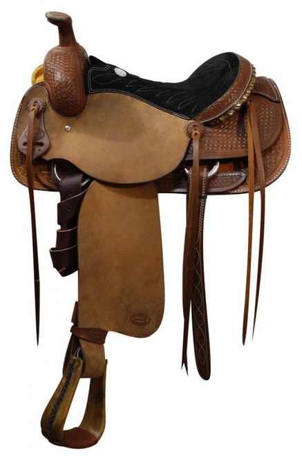 "16"" Showman Roping Saddle Olin Young Tree Roping Warranty"