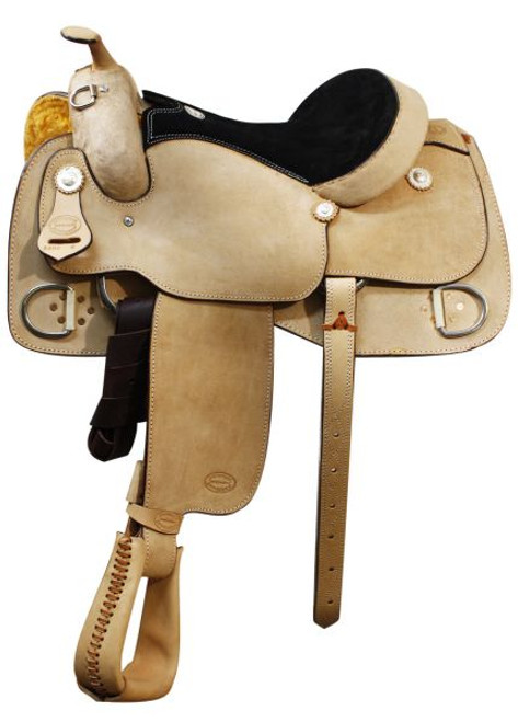 "16"" Showman Training Saddle"