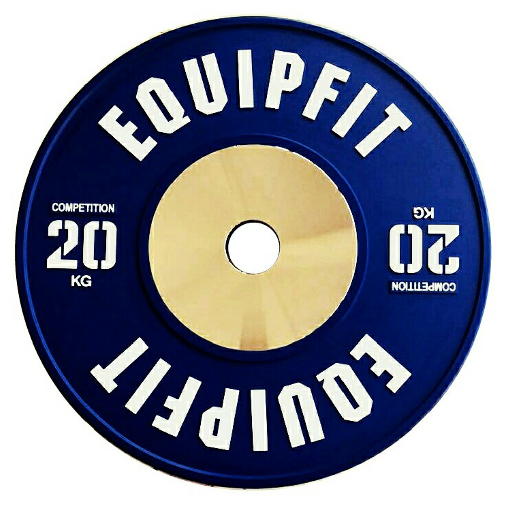EQUIPFIT COMPETITION WEIGHTLIFTING BUMPER - 20KG
