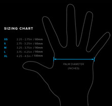 FIT FOUR ANTI RIPPER SIZING CHART
