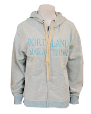 320.4 Womens Vintage Mint Cotton Hoodie
