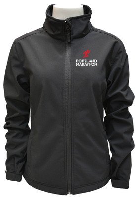 166  Mens Black Softshell Jacket