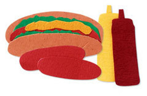 Hot Dog Scrapbook Embellishment by Jolee's By You