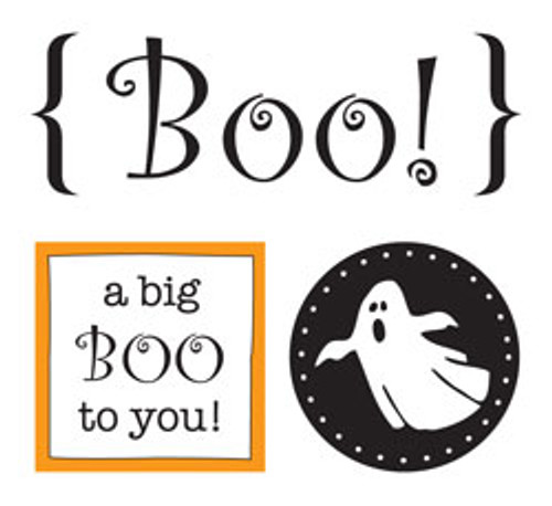 Quick Cards Collection Boo Sticker Sheet by SRM Press - Pkg. of 2