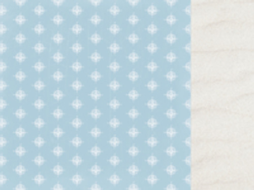 Sail Away Collection Compass 12 x 12 Double-Sided Cruise Scrapbook Paper by Kaisercraft
