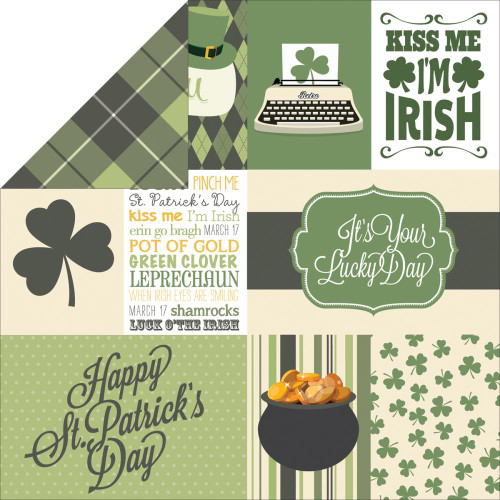 Lucky You Collection Lucky You 12 x 12 Double-Sided Scrapbook Journaling Cards by Echo Park