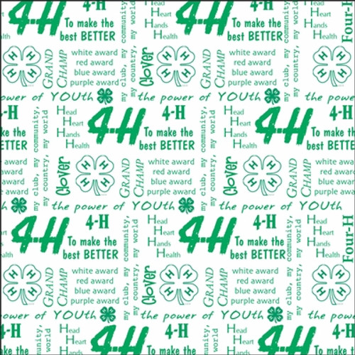 4-H Collection 4-H Words 12 x 12 Scrapbook Paper by It Takes Two