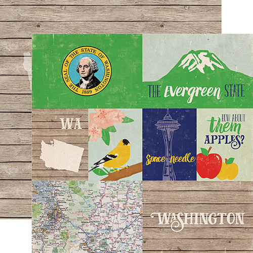 Washington Scrapbooking Scrapbook Paper Scrapbook Stickers