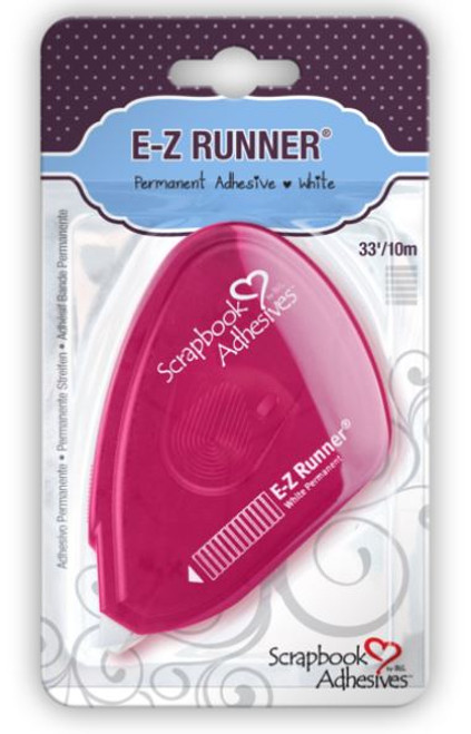 E-Z Runner Permanent Adhesive Strips Dispenser by Scrapbook Adhesives - 33'